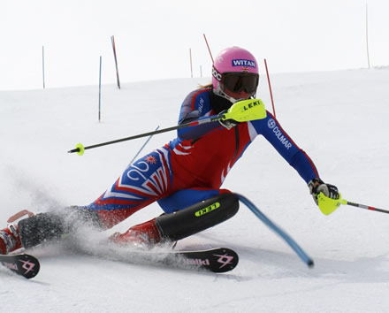 Sports Massage Client - Chemmy Alcott - GB Alpine Ski Racer